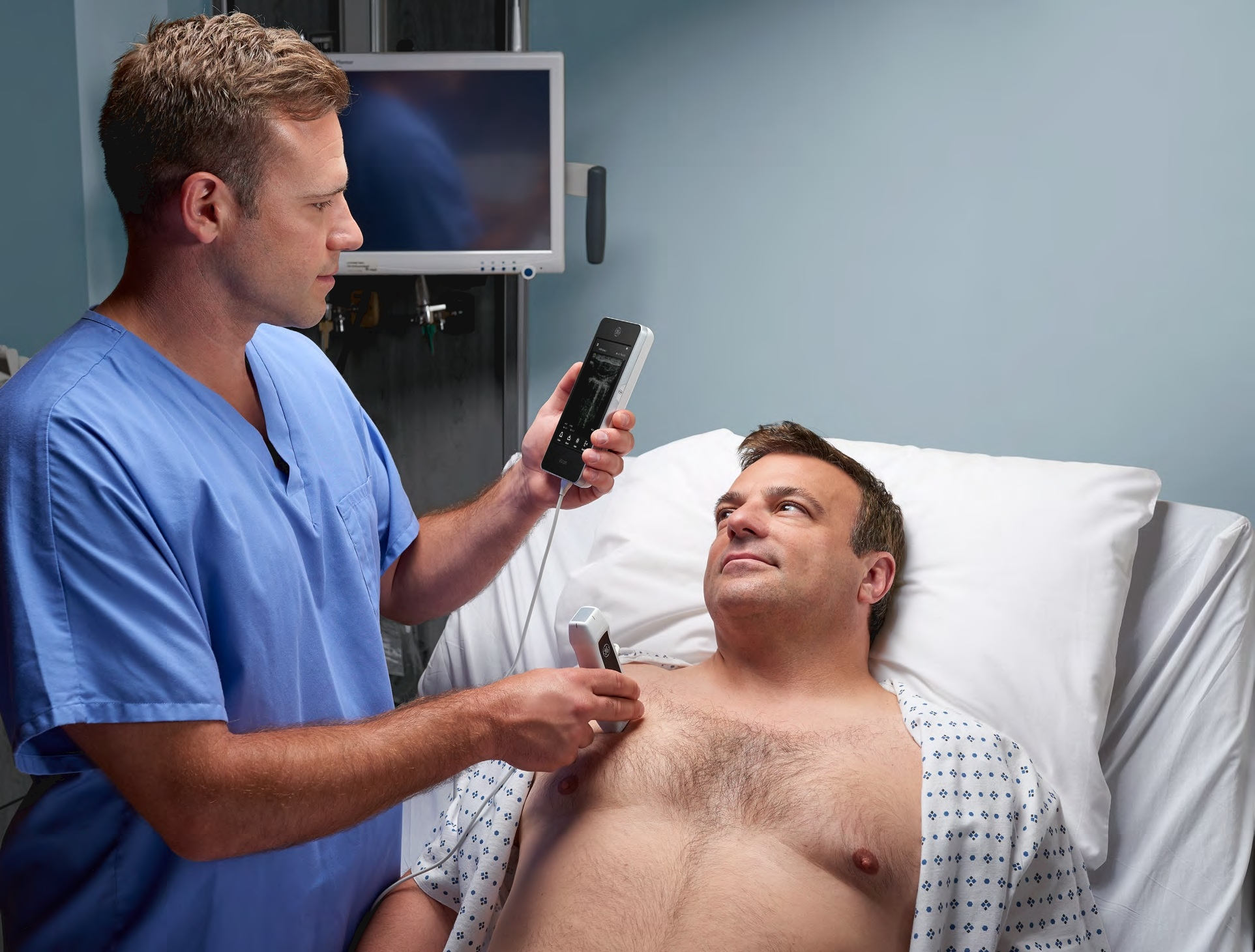 Self Photos / Files - Vscan Extend doctor and patient